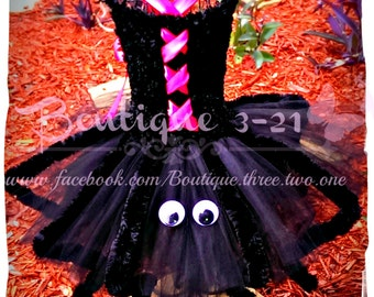 Ready to ship / Itsy Bitsy Spider Tutu Dress