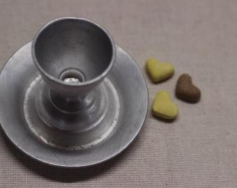 Vintage Aluminium Egg Cup