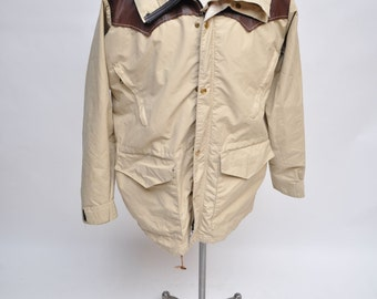 vintage shooting jacket 10X cotton leather 10-x by ...