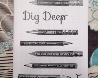 dig deep zine #5