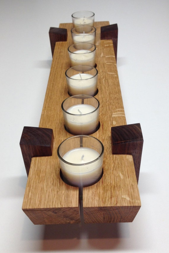 Wooden candle holder Table center piece dimensions 5 x : il570xN6298047482372 from www.etsy.com size 570 x 850 jpeg 72kB