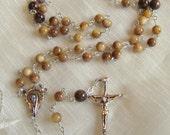 Amber Shell Rosary