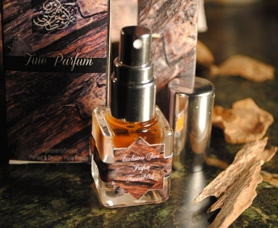 Saharan Incense 'Signature' Natural Perfume Spray 7ml - French Arabian Solide Parfum Naturel by Sharif LaRoche // Frankincense Myrrh Amber