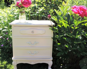 SOLD/VENDU   French provencial Nightstand