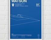 Ben Watson vs Manchester City Giclee Print