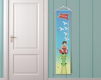 Dragon & Knight Growth Chart - Personalized