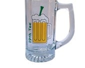"Golf ""19th Tee"" Glass Mug 