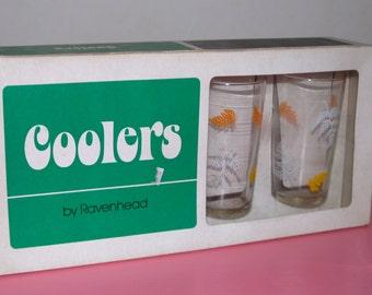CLEARANCE SALE!!!! Vintage 1960's Ravenhead Drinking Glasses
