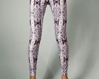 Leggings digitally printed, Designer pattern \ MERCURY PATTERN LEGGINGS\ Limited Edition