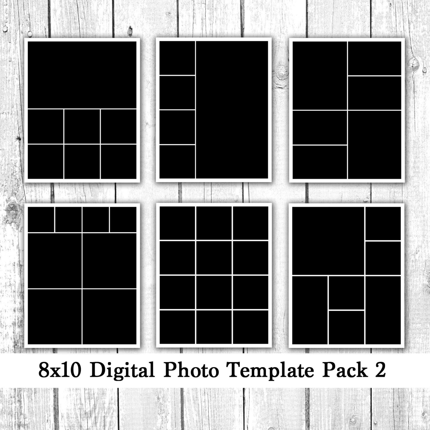 8x10 digital photo template pack collage by loveurstyledesigns. Black Bedroom Furniture Sets. Home Design Ideas