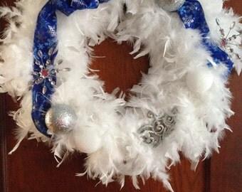 Winter, Snow-themed Wreath