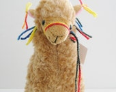 Little Llama Decorated with Tassles ...Just like the Llamas of Fox Hill!