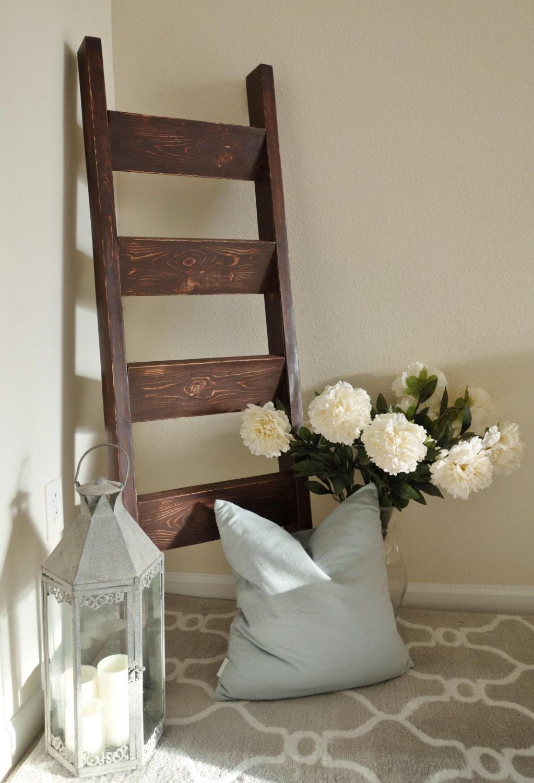 Handmade Blanket Ladder By Whitekeycottage On Etsy
