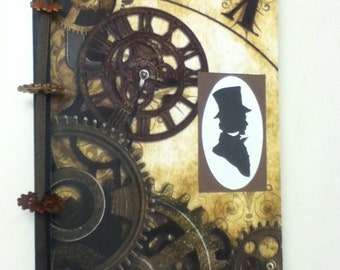 Steampunk Altered Composition Journal