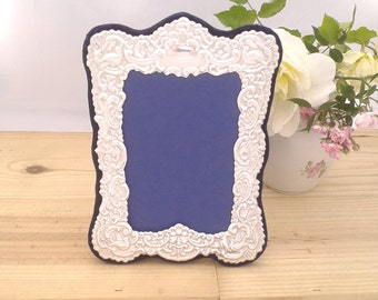 Silver Photo Frame, Silver Picture Frame, Ornate Victorian Style Hallmarked Silver Photo Picture Frame - No.1