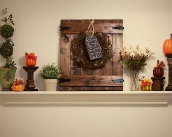 Door Wall Decor wreath hanger | etsy