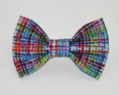 Colorful Dog Bow Tie