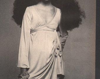 Vogue circa 1960s Penelope Tree model fashion photo 1 page 2-sided - cele117