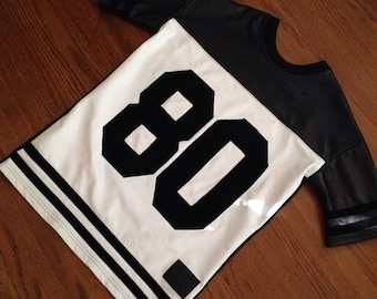 80 Numbers Jersey in Lambskin Leather