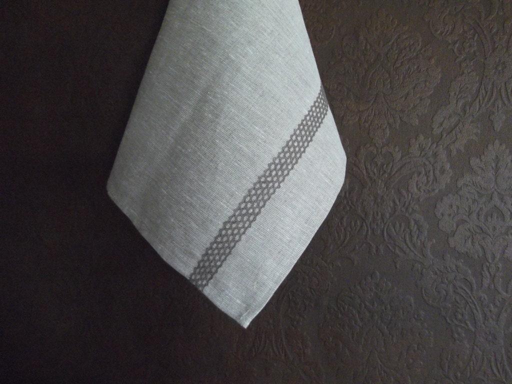 tea towel gray towel linen towel dish towel kitchen. Black Bedroom Furniture Sets. Home Design Ideas