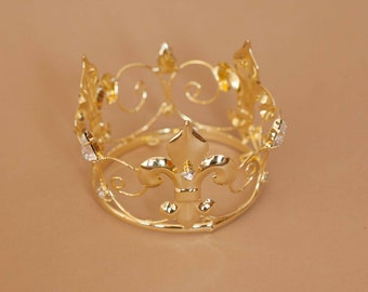 Newborn Rhinestone Crown Tiara Photo Prop #4011
