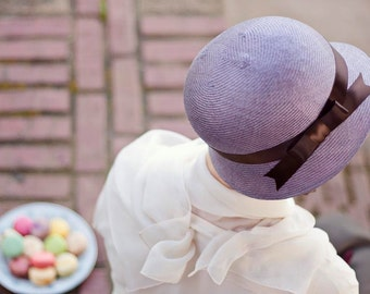 Macaron Cloche in Candied Violet