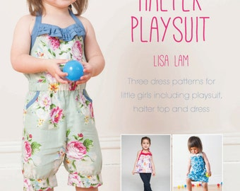 Happiness Halter Playsuit Sewing Pattern Download (803593)