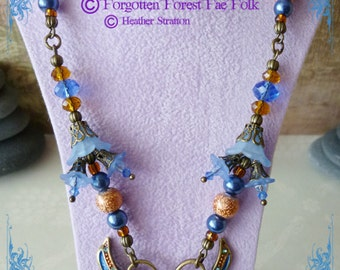 Jewelled Lagoon Dweller necklace