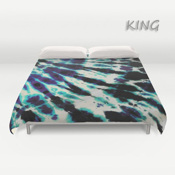 Duvet Cover Comforter Cover Tie Dye Bedding Purple By