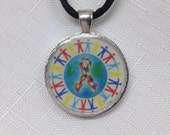 Autism Necklace - autism jewelry free shipping handmade.Spread awareness everyday. By Geneva's Sky