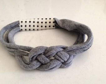 Celtic Knot Wrap - Grey