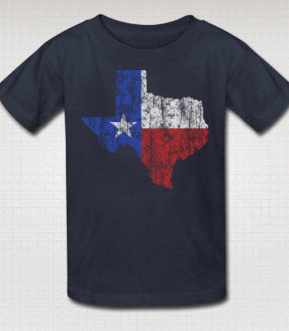 Kid 39 s texas vintage style t shirt dallas by texasvintagetees for Wholesale t shirts dallas tx
