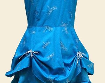 Dragonfly Ruche Swing Dress