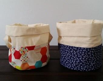 Fabric Planter Bag / Storage Bag