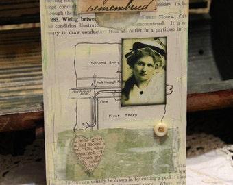 Remembered - Original Collage