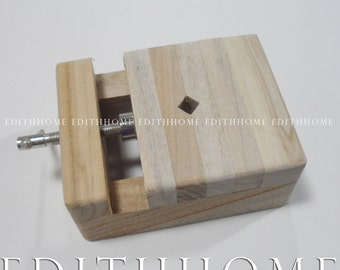 Stamping & Engraving Tools, Stone Holder for Making Seal Chop (Free Shipping) - Camphor Wood
