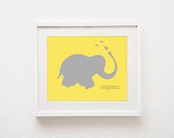 Safari Series - Elephant | 8x10