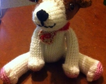 Crochet Jack Russell Terrier