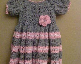 Crochet Baby/Toddler Dress