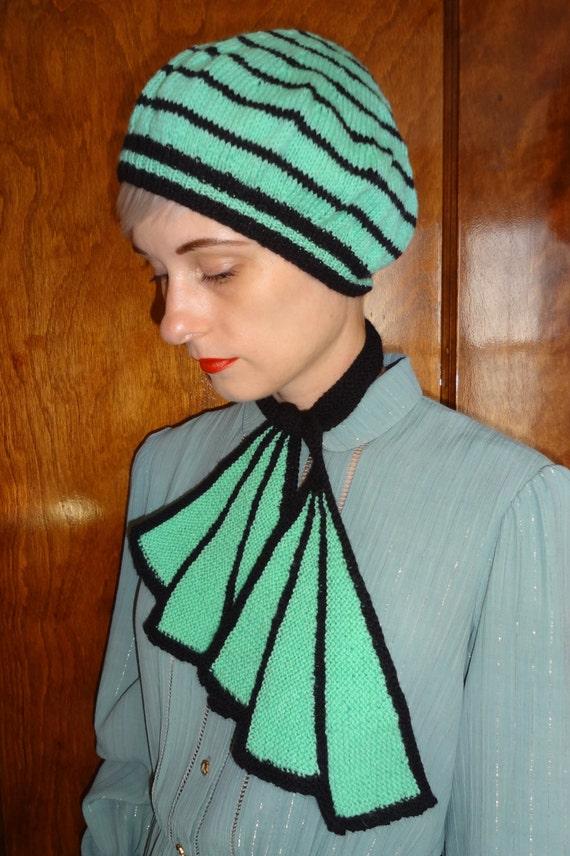 Scarf Knitting Styles : S scarf trompe l oeil style wool