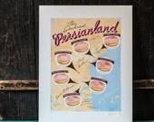 Persianland! Thunder Bay Doughnut Map - Limited Edition Art Print
