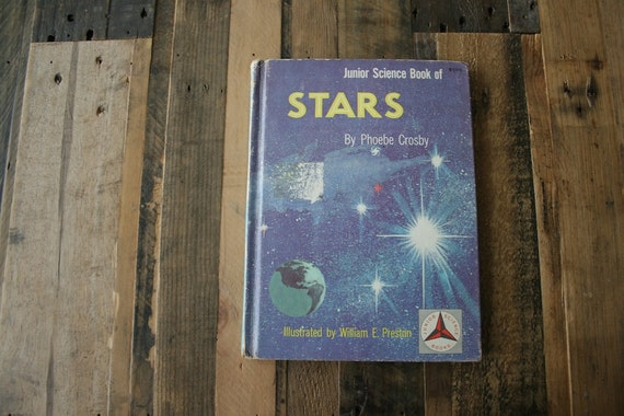 Vintage Recycled Sketch Book - Stars