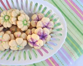 Mother's Day Flower Butter Cookie Sampler