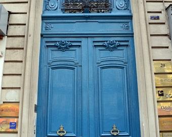 Paris Door Photographs, Blue Doors Paris, Paris Doors Wall Art, Paris Blue Door Prints, French Doors, Paris France doors, Paris Photography