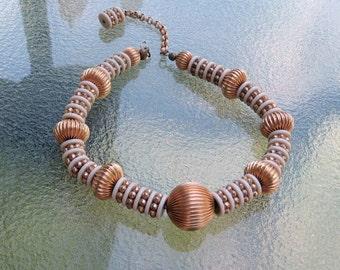 Signed Choker Necklace KJL Vintage Jewelry Kenneth J Lane Designer