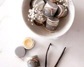 Natural Vanilla Lip Butter in a pot  - Organic Cocoa Butter - Organic Vanilla Extract - Lip Balm - Wedding Favor - Small Gift