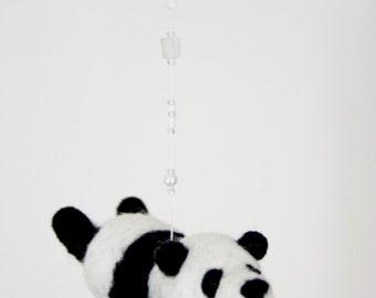 nursery mobile- flying panda bear mobile