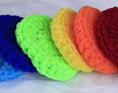 Crochet Nylon Dish Scrubbie, customizable color