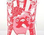 Pug Dog Breed Pillow