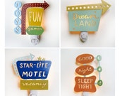 Vintage Inspired Retro Sign Nightlight